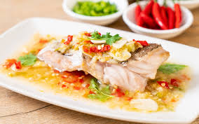 Steamed Grouper with Chili Lime Sauce ...