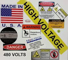 3m Vinyl Stickers Mcs Engravers