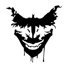 Car Truck Graphics Decals Batman Logo Symbol Decal Vinyl Sticker Car Truck Window Joker Laugh Ha Ha Ha Auto Parts And Vehicles