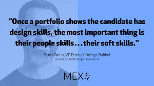 design talk deep experience scott weiss vp product design