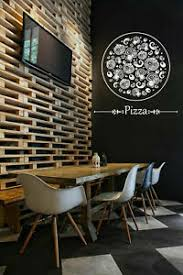 Ik1068 Wall Decal Sticker Pizza Italian Restaurant Pizzeria Decor Art Print Ebay