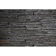 z black waterfall wall stone cladding
