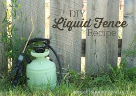 Liquid Fence Recipe The Prairie Homestead