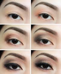 smokey eye makeup tutorial asian eyes