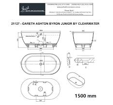Byron Stone Bath by Clearwater Baths - Just Bathroomware