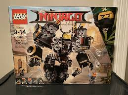 Lego The Ninjago Movie Quake Mech 70632 - Sealed for sale online