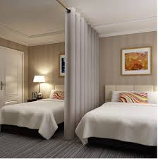No Temporary Walls Allowed Using Curtain Room Dividers In Your Nyc Apartment