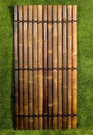 Black Bamboo Fencing Panels Screens Buy Bamboo Product On Alibaba Com