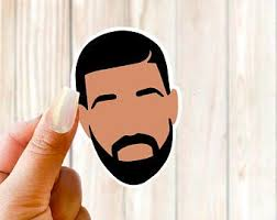 Drake Decal Etsy