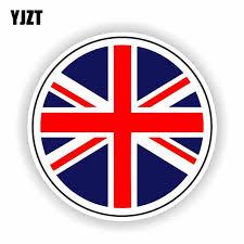 Yjzt 13cm 13cm Great Britain British Flag Car Sticker Decal Motorcycle Helmet Accessories 6 1624 Car Stickers Aliexpress