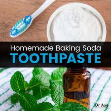 homemade baking soda toothpaste dr axe