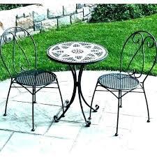 chairs ceramic mosaic cast iron
