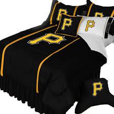 mlb pittsburgh pirates bed comforter