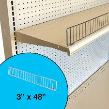 Gondola Shelving Accessories Wire Fences Dividers Dgs Retail