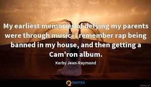 my earliest memories of defying my parents were through music