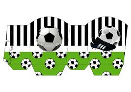 Set De Futbol Imprimibles Para Fiestas Invitaciones Y Cajas Para