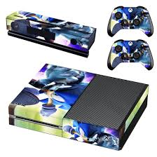 Sonic Unleashed Skin Decal For Xbox One Console And Controllers Xbox One Skin Xbox One Xbox One Console