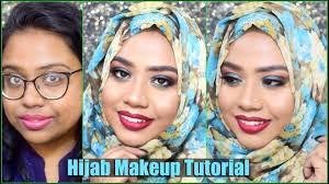 hijab wedding guest makeup tutorial for