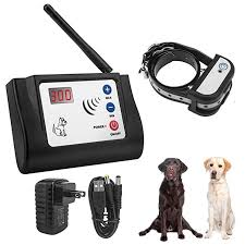 Wireless Electric Dog Fence Outdoor Pet Dog Training Collar Waterproof Rechargeable Transmitter Receiver Pet Containment System Training Collars Aliexpress