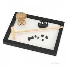 kiwarm mini zen garden sand kit office