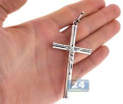 sterling silver christ large