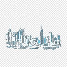 New York City Mural Wall Wall Decal Architecture Building Building Design Drawing Interior Design Services Engineering Drawing Free Png Pngfuel