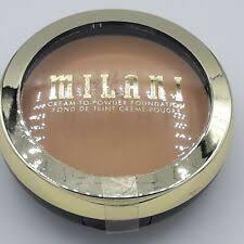 milani conceal cream to powder makeup