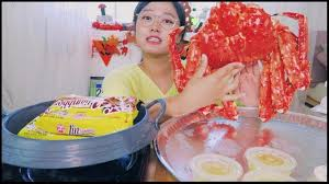 킹크랩먹방) KING CRAB MUKBANG (2nd year ...