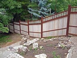 Building A Fence On Uneven Ground Build Fence Uneven Ground Lovely On Installing Woven Wire Fence On Uneven Ground Wood Fence Design Fence Planning Cedar Fence
