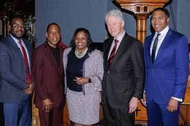 Photos: President Bill Clinton Visits Bed-Stuy's Cornerstone ...