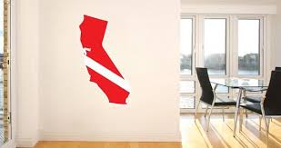 Scuba Us States Wall Decals Dezign With A Z