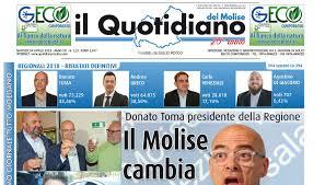 E' ancora 'Speciale elezioni' de 'Il Quotidiano del Molise' domani in  edicola, oggi il tutto esaurito - quotidianomolise.com
