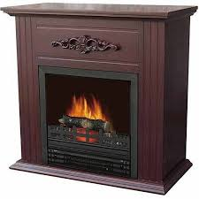 electric space heater fireplace