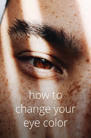 change your eye color options for