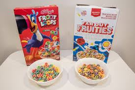 cereals against their generic version
