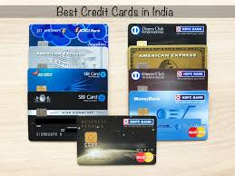 best credit card in india list of