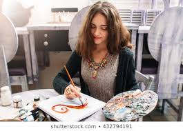 Drawing Girl Watercolor Stock Photos, Images & Photography | Shutterstock