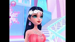 ice princess dress up makeup