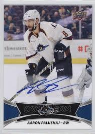 2016-17 Upper Deck AHL - Autographs #70 - Aaron Palushaj