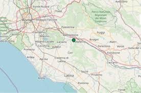 Terremoto nel Lazio oggi, giovedì 31 ottobre 2019, scossa M 2.0 in ...