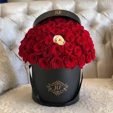 anniversary red rose box birthday