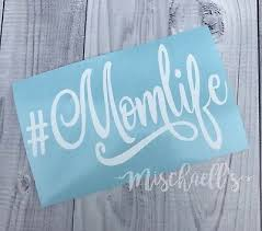 Mom Life Car Decal Vinyl Sticker Yeti Cup Decal Busy Mom Sticker M1013 3 99 Picclick
