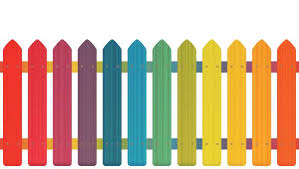 2 204 Colorful Fence Illustrations Royalty Free Vector Graphics Clip Art Istock