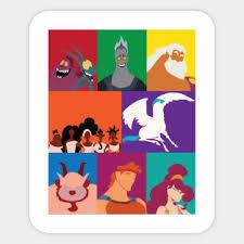 Hercules Stickers Teepublic