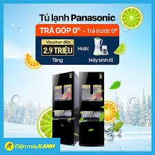 Sắm tủ lạnh Panasonic - Giải nhiệt hè... - Điện máy XANH (dienmayxanh.com)