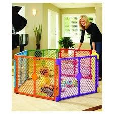 Toddler Play Yard Baby Portable Playpen Safety Gate Fence Pet Pen Child Outdoor Baby Play Yard Play Yard Toddler Play Yard