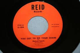 popsike.com - HELENE SMITH You Got To Do Your Share 45 Record REID ...