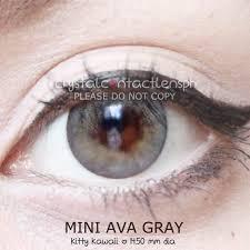 🦄 MINI AVA GRAY 🍃 Php 350/pair ✔️ KFDA... - Crystal Contact Lens PH |  Facebook