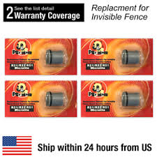 4 Pcs Replacement Dog Collar Batteries For Invisible Fence R21 R22 R51 Microlite Ebay