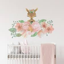 Nursery Wall Decal Fiona The Fawn Shenasi Concept Peppy Lu